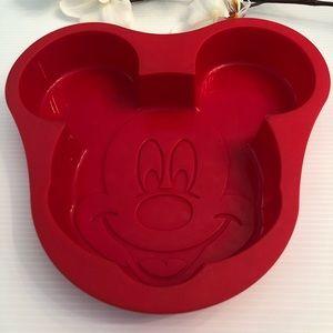 Disney Mickey Mouse Silicone Baking Cake Mold Pan